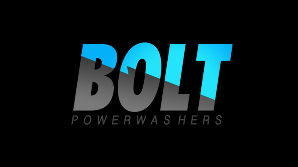 logo design for bolt power washers tigerhive creative group raleigh nc bolt power washers tigerhive