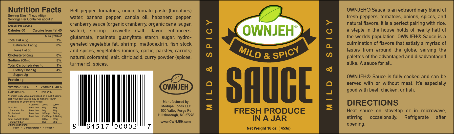 ownjeh-mild-spicy